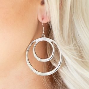 Put Your Sol Into It Silver Earrings
